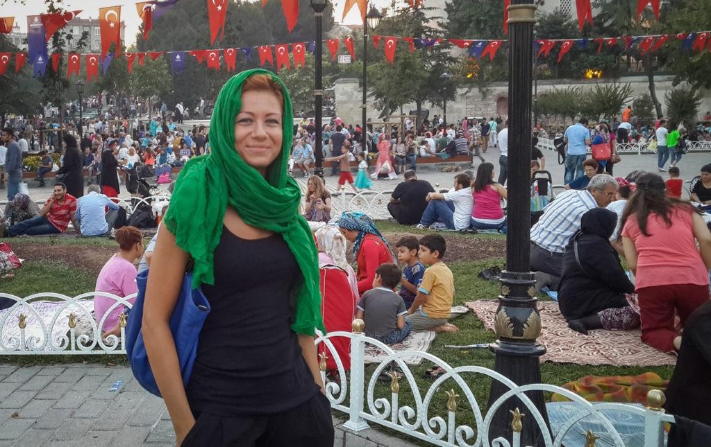 Ramadan 2014 w Stambule.